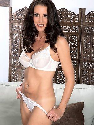 Katrina's tits, pussy and asshole show